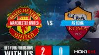 Prediksi Bola Manchester United FC Vs Roma 30 April 2021