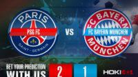 Prediksi Bola PSG FC Vs FC Bayern Munchen 14 April 2021