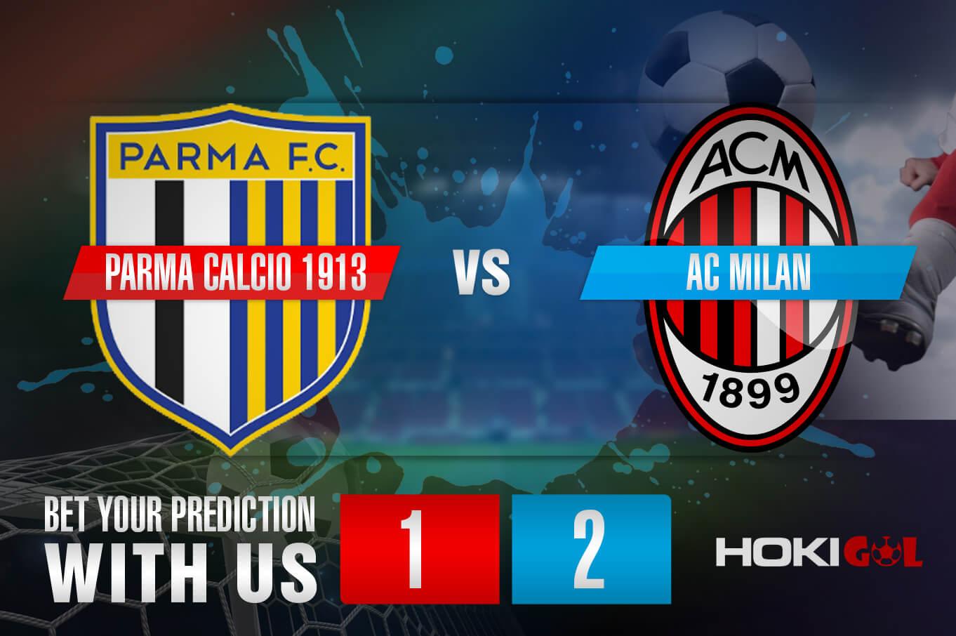 Prediksi Bola Parma Calcio 1913 Vs AC Milan 10 April 2021