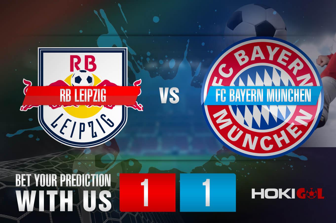 Prediksi Bola RB Leipzig Vs FC Bayern Munchen 3 April 2021