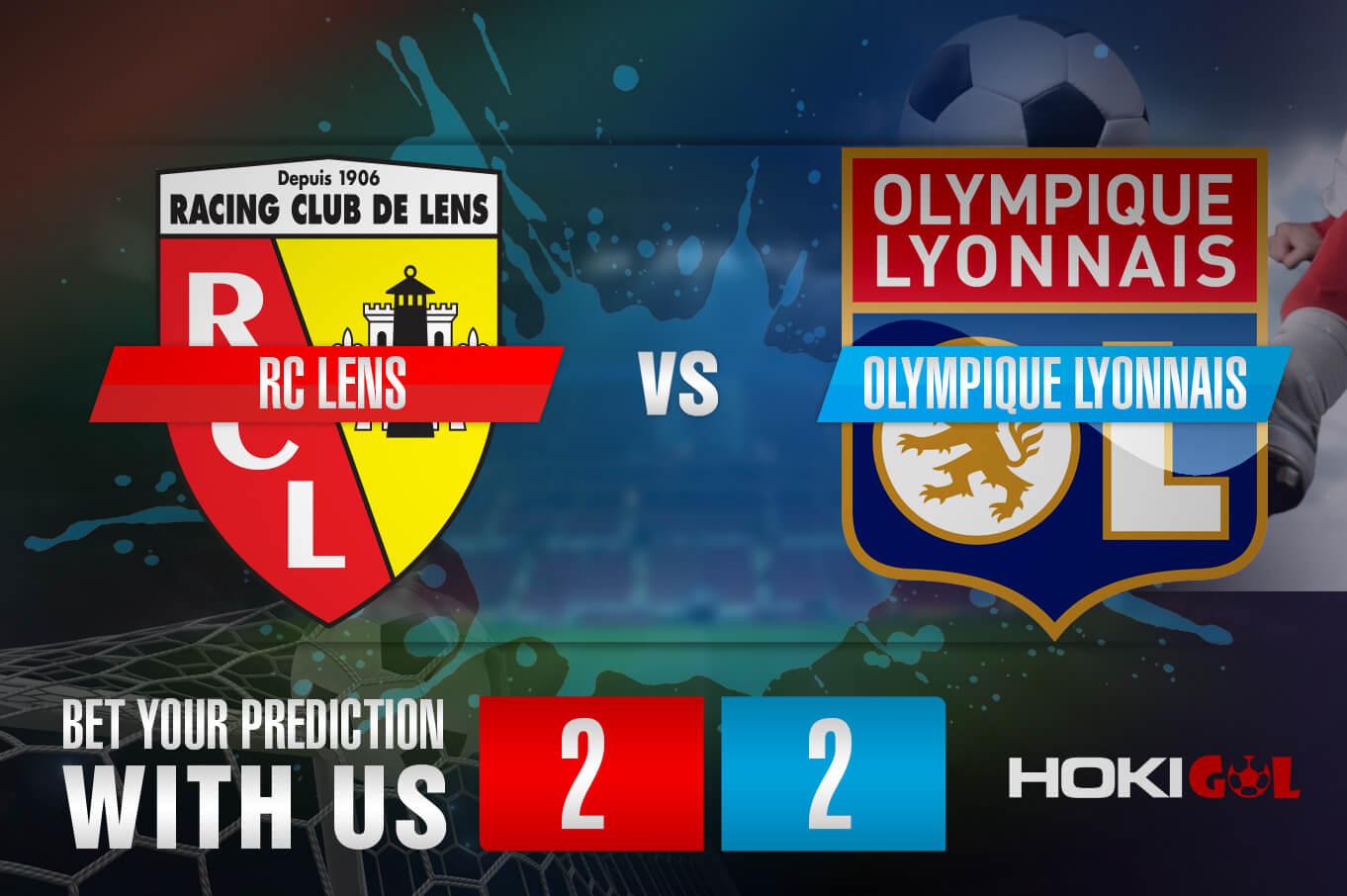 Prediksi Bola RC Lens Vs Olympique Lyonnais 4 April 2021
