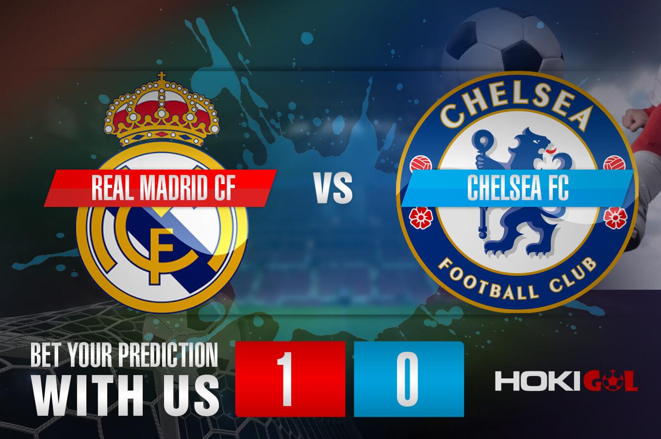 Prediksi Bola Real Madrid CF Vs Chelsea FC 28 April 2021