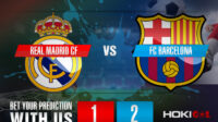 Prediksi Bola Real Madrid CF Vs FC Barcelona 11 April 2021