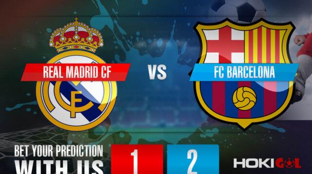 Prediksi Bola Real Madrid CF Vs FC Barcelona 11 April 2021