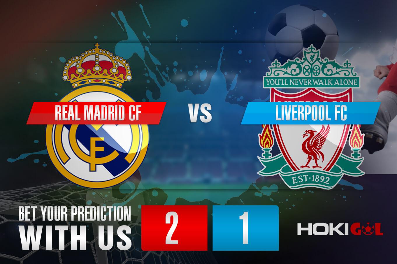 Prediksi Bola Real Madrid CF Vs Liverpool FC 7 April 2021