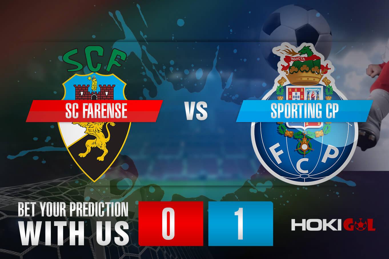 Prediksi Bola SC Farense Vs Sporting CP 17 April 2021