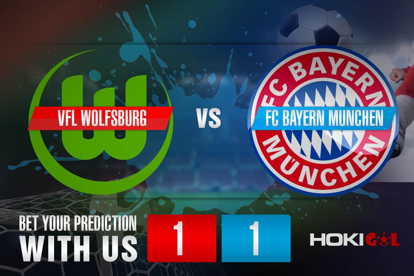 Prediksi Bola VfL Wolfsburg Vs FC Bayern Munchen 17 April 2021