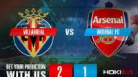 Prediksi Bola Villarreal CF Vs Arsenal FC 30 April 2021
