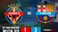 Prediksi Bola Villarreal CF Vs FC Barcelona 25 April 2021