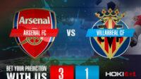Prediksi Bola Arsenal FC Vs Villarreal CF 7 Mei 2021