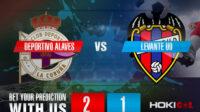 Prediksi Bola Deportivo Alaves Vs Levante UD 8 Mei 2021