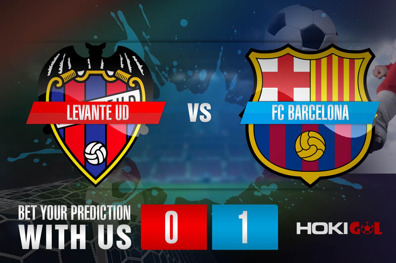 Prediksi Bola Levante UD Vs FC Barcelona 12 Mei 2021