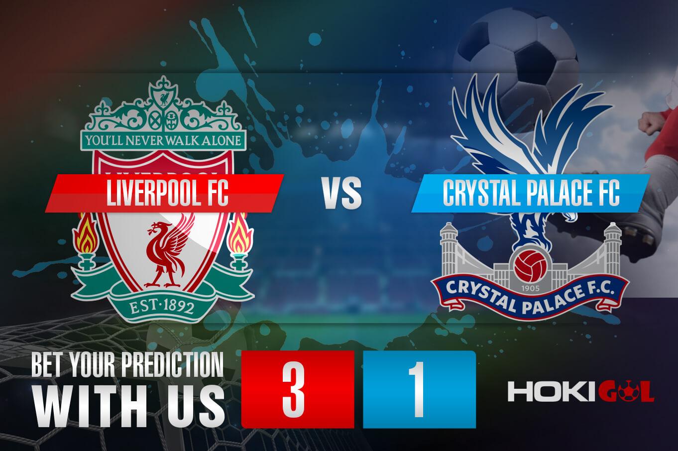 Prediksi Bola Liverpool FC Vs Crystal Palace FC 23 Mei 2021