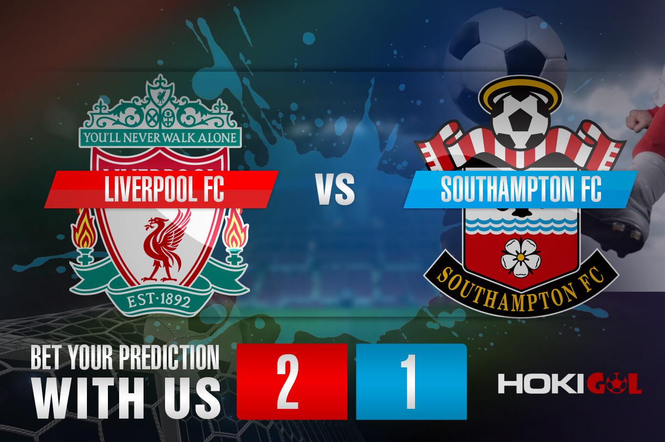 Prediksi Bola Liverpool FC Vs Southampton FC 9 Mei 2021