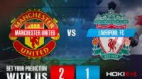 Prediksi Bola Manchester United FC Vs Liverpool FC 2 Mei 2021