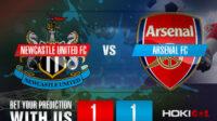 Prediksi Bola Newcastle United FC Vs Arsenal FC 2 Mei 2021