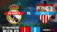 Prediksi Bola Real Madrid CF Vs Sevilla FC 10 Mei 2021