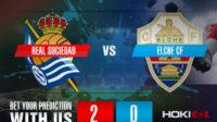 Prediksi Bola Real Sociedad Vs Elche CF 8 Mei 2021
