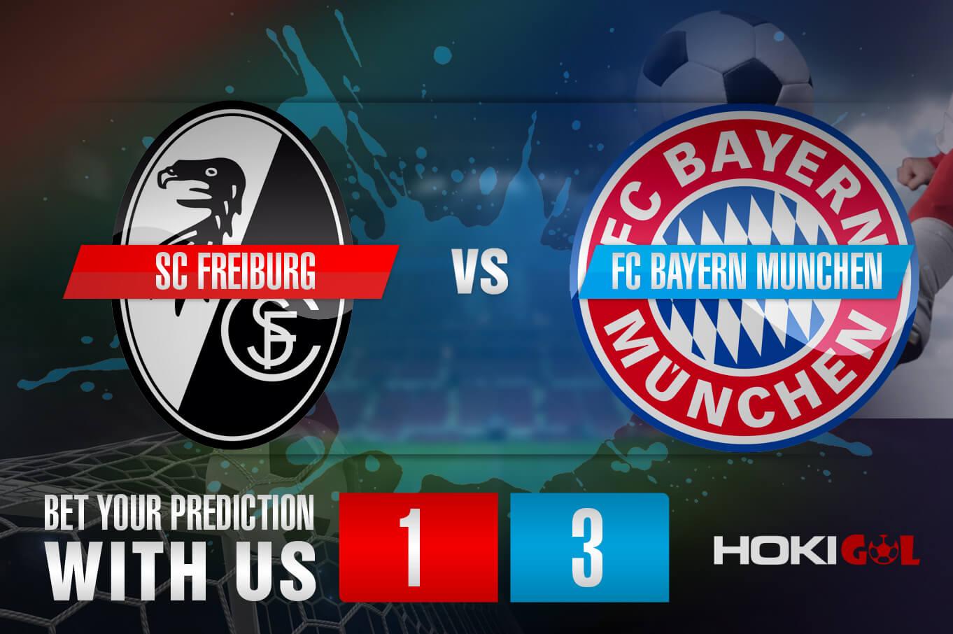 Prediksi Bola SC Freiburg Vs FC Bayern Munchen 15 Mei 2021