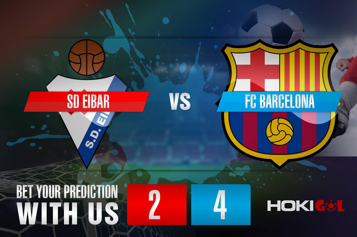 Prediksi Bola SD Eibar Vs FC Barcelona 22 Mei 2021