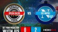 Prediksi Bola Spezia Calcio Vs SSC Napoli 8 Mei 2021