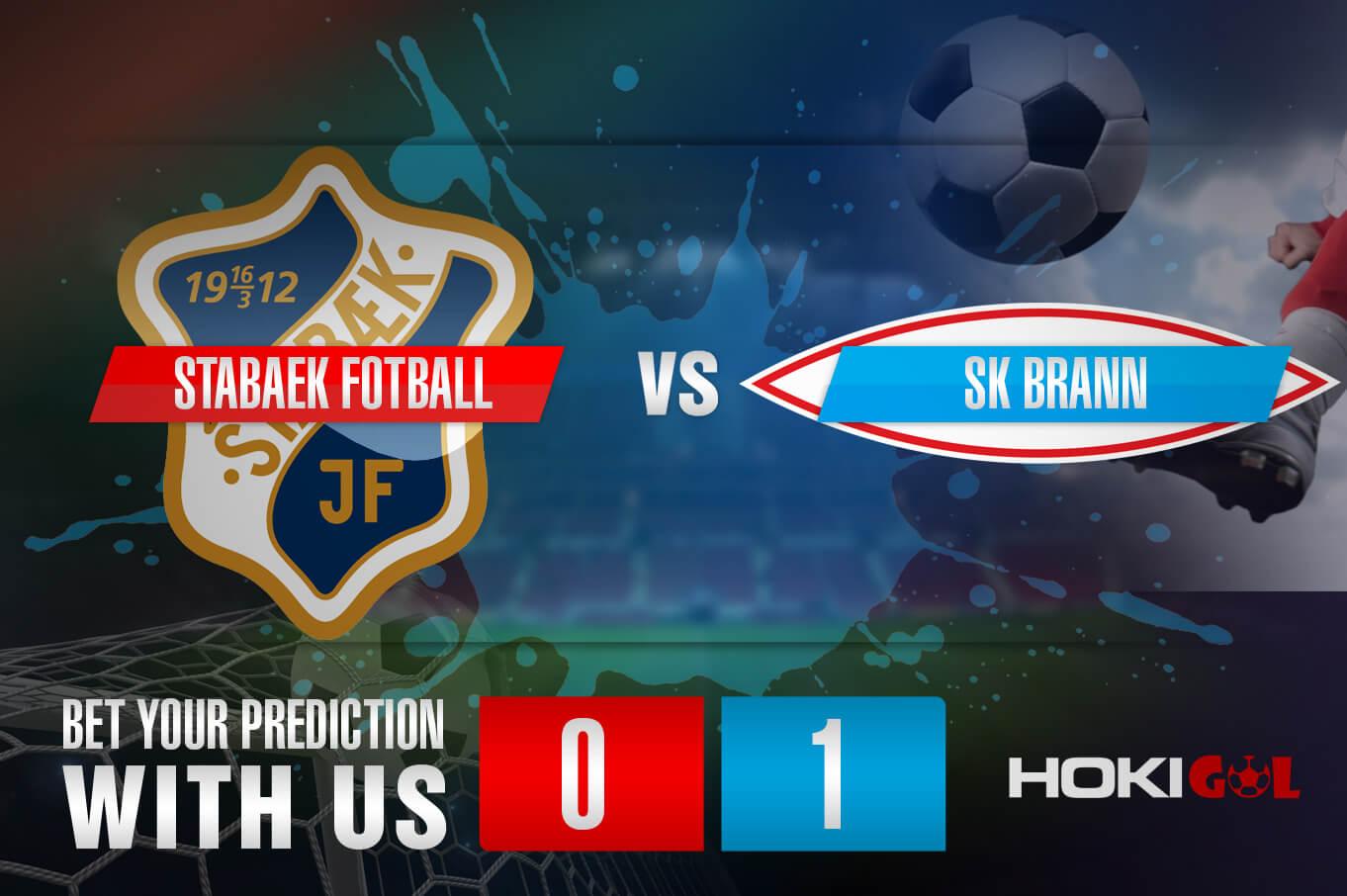 Prediksi Bola Stabaek Fotball Vs SK Brann 27 Mei 2021