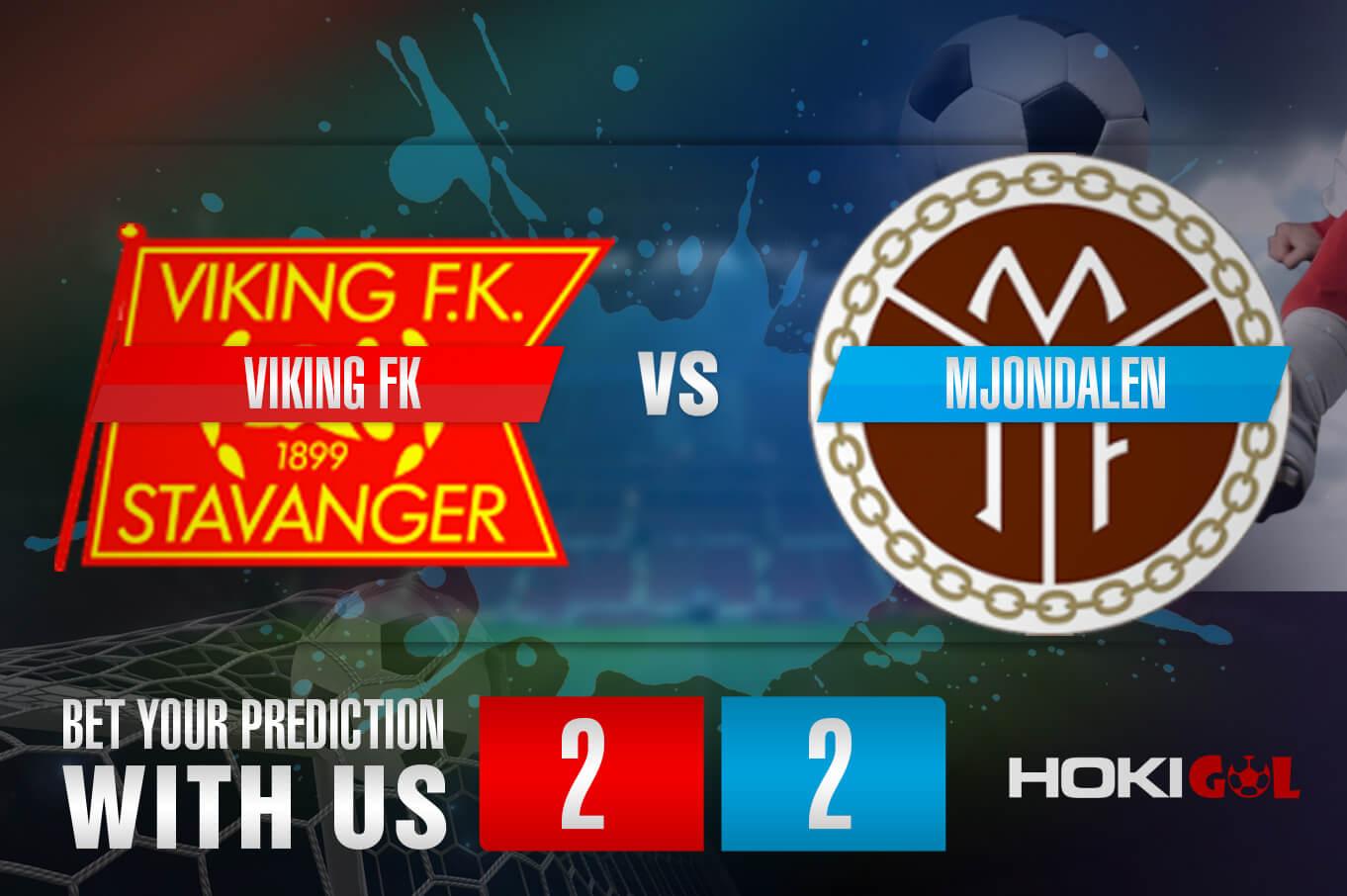 Prediksi Bola Viking FK Vs Mjondalen IF Fotball 27 Mei 2021