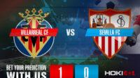 Prediksi Bola Villarreal CF Vs Sevilla FC 16 Mei 2021