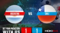 Prediksi Bola Argentina Vs Chili 15 Juni 2021