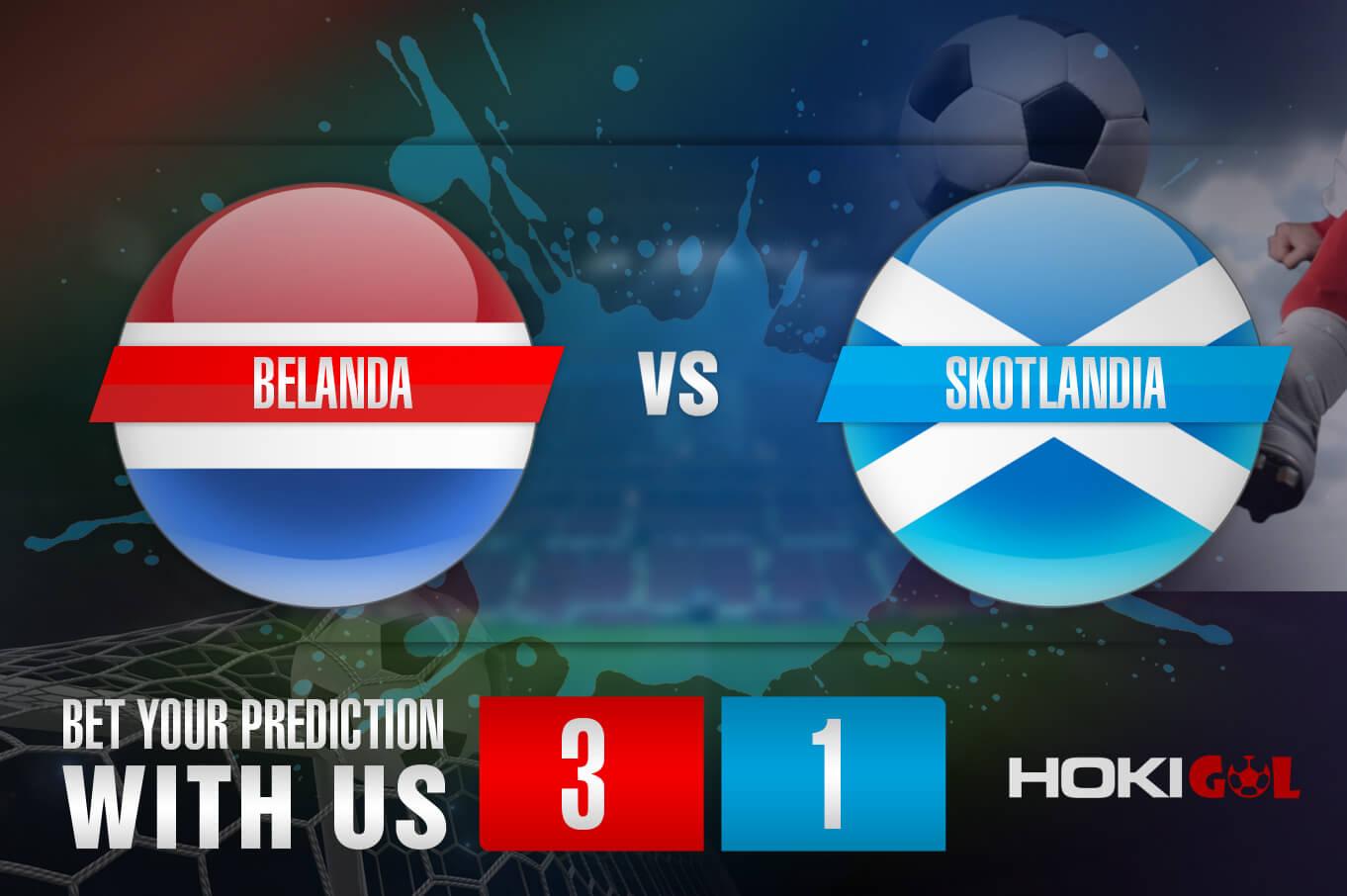 Prediksi Bola Belanda Vs Skotlandia 3 Juni 2021