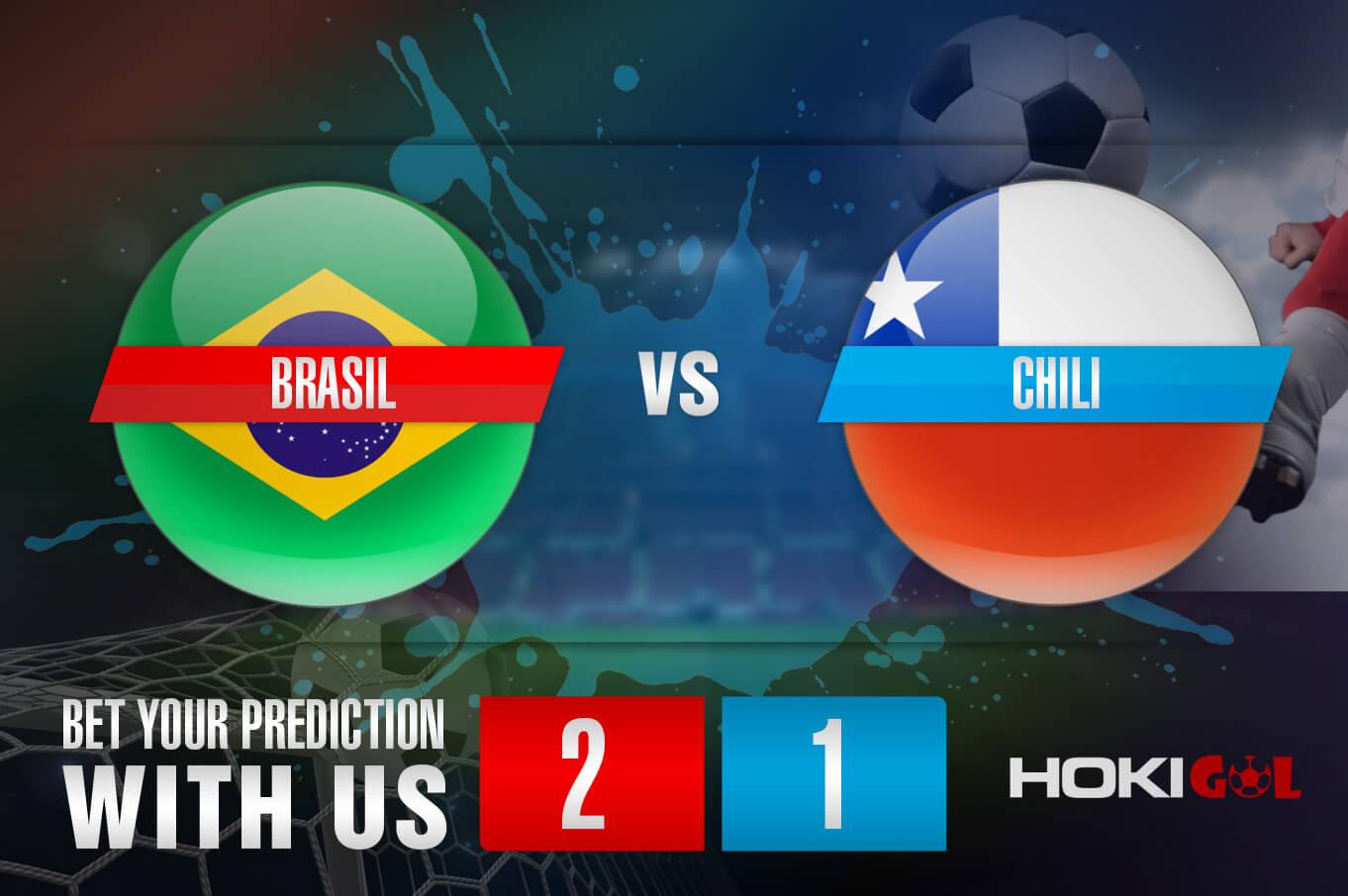 Prediksi Bola Brasil Vs Chili 3 Juli 2021