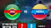 Prediksi Bola Brasil Vs Venezuela 14 Juni 2021