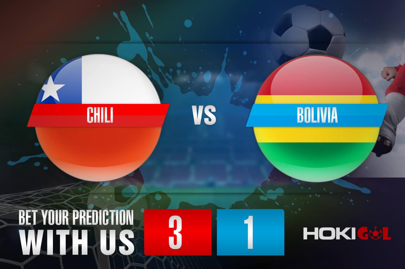 Prediksi Bola Chili Vs Bolivia 19 Juni 2021