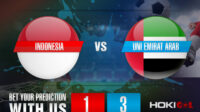 Prediksi Bola Indonesia Vs Uni Emirat Arab 11 Juni 2021