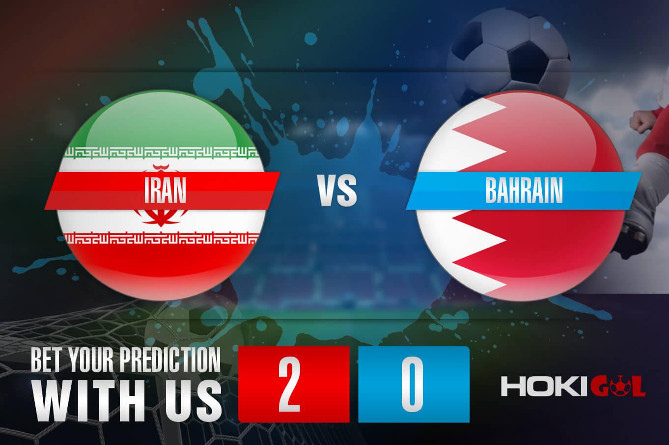 Prediksi Bola Iran Vs Bahrain 7 Juni 2021