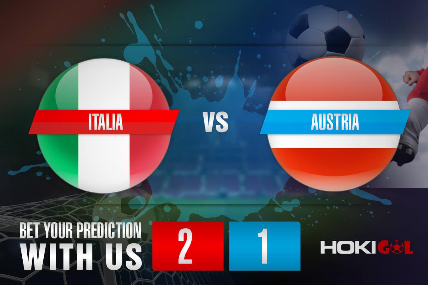 Prediksi Bola Italia Vs Austria 27 Juni 2021