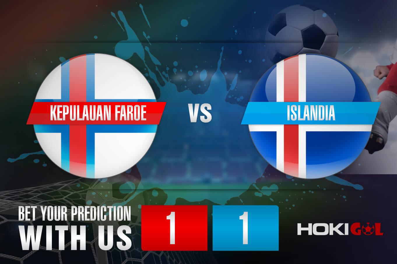 Prediksi Bola Kepulauan Faroe Vs Islandia 5 Juni 2021