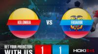 Prediksi Bola Kolombia Vs Ekuador 14 Juni 2021