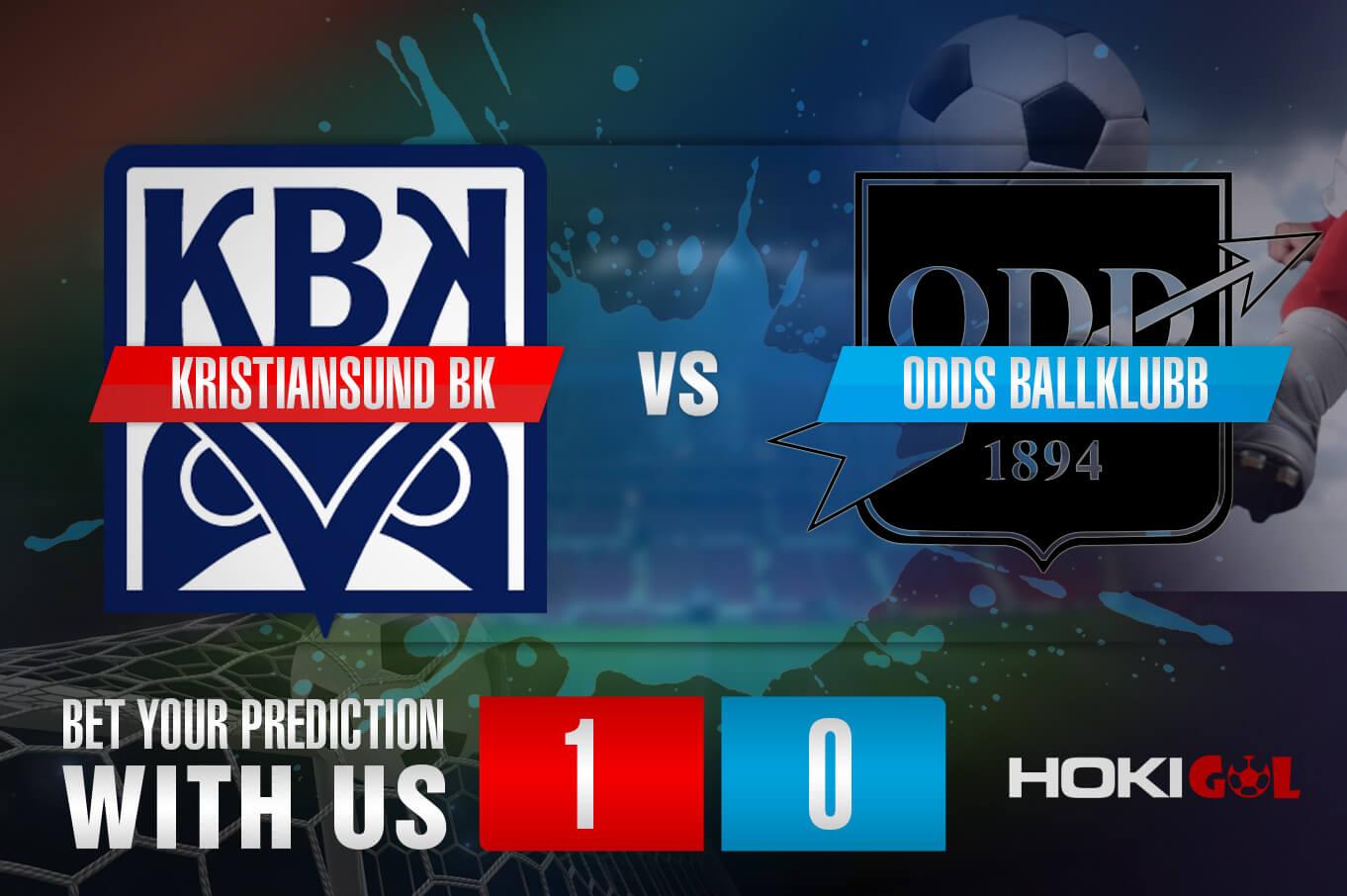 Prediksi Bola Kristiansund BK Vs Odds Ballklubb 12 Juni 2021