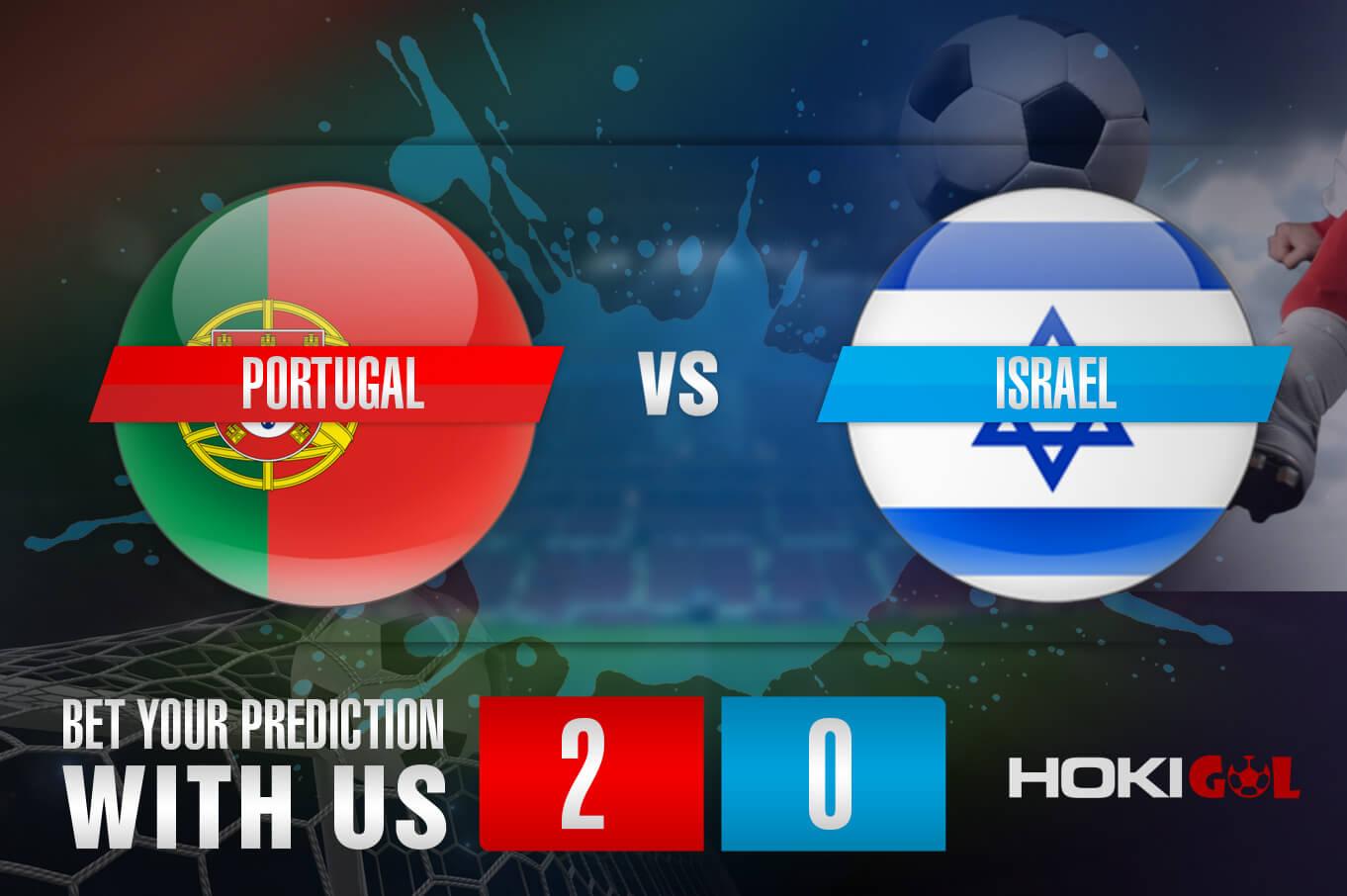 Prediksi Bola Portugal Vs Israel 10 Juni 2021