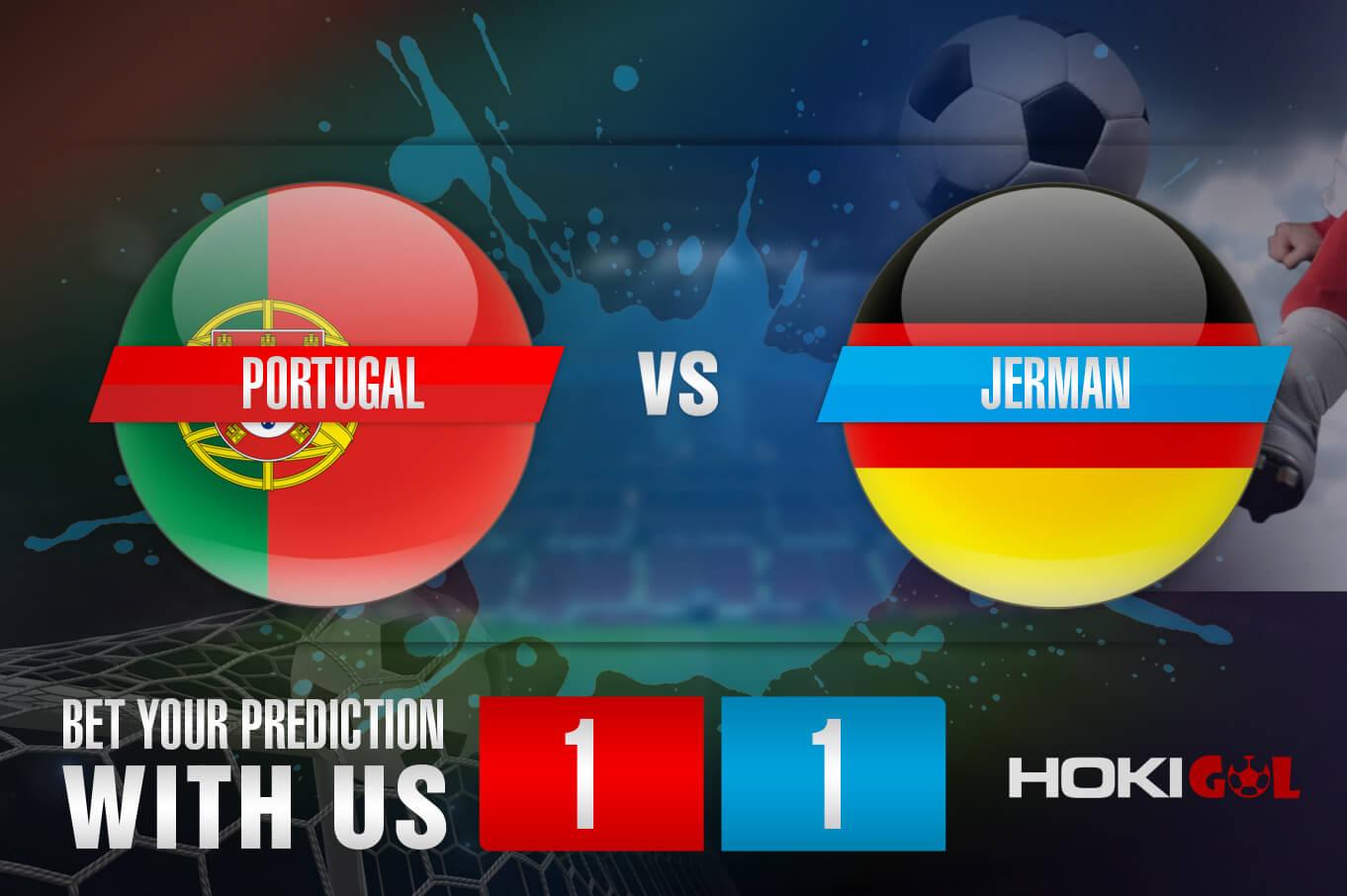 Prediksi Bola Portugal Vs Jerman 19 Juni 2021
