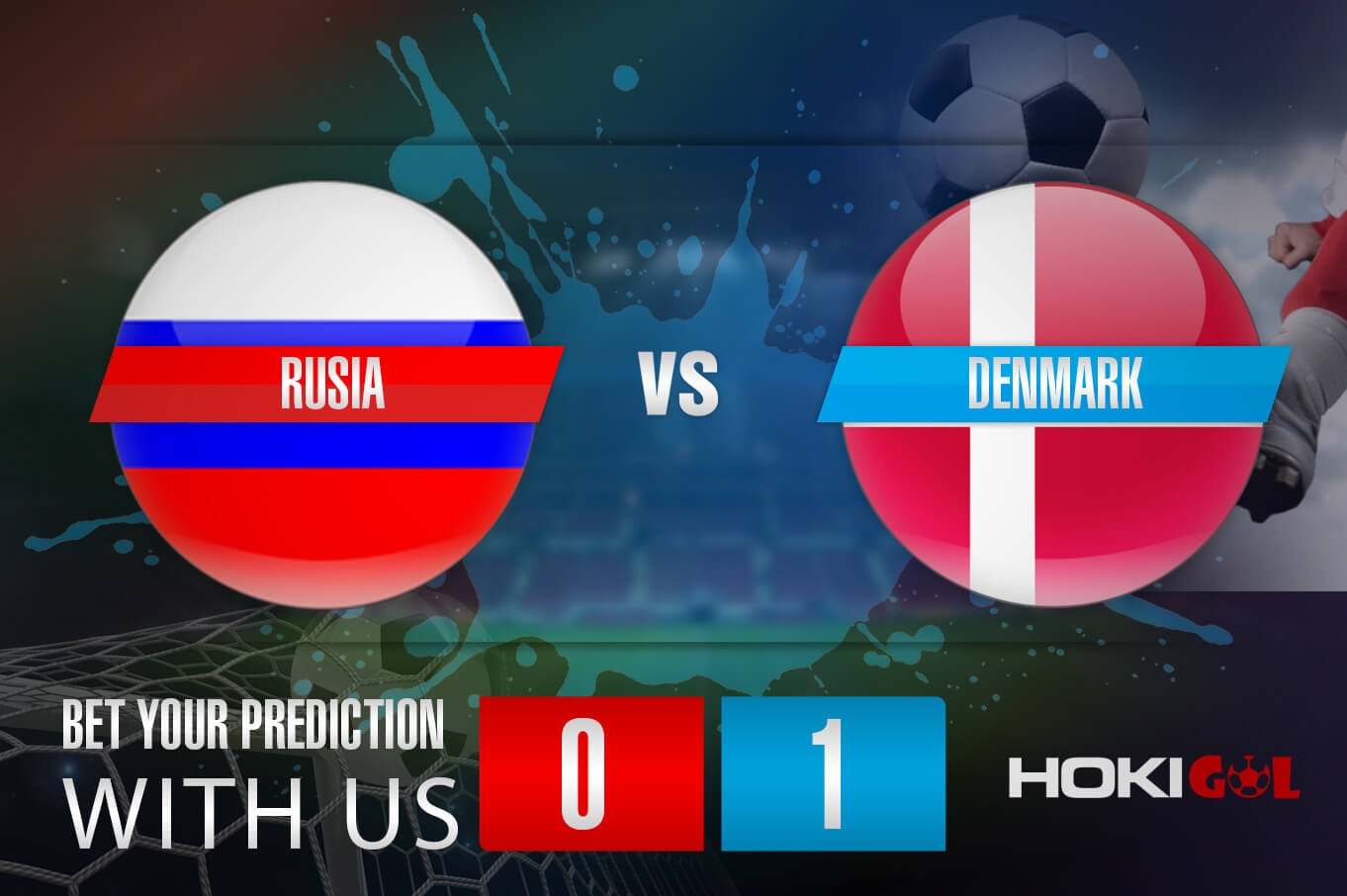 Prediksi Bola Rusia Vs Denmark 22 Juni 2021