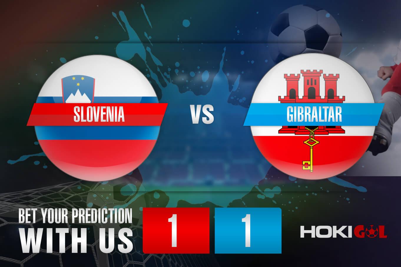 Prediksi Bola Slovenia Vs Gibraltar 5 Juni 2021