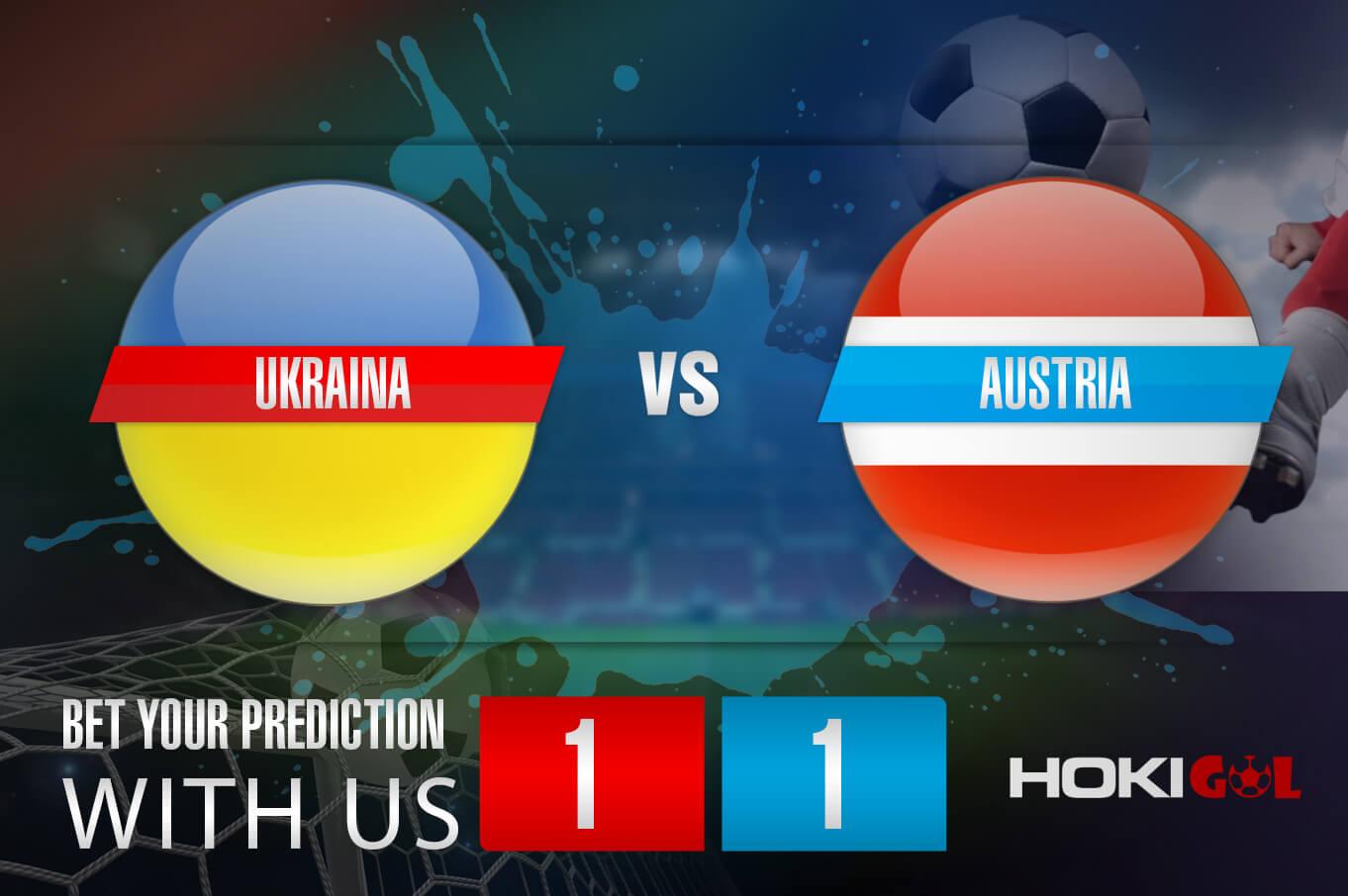 Prediksi Bola Ukraina Vs Austria 21 Juni 2021