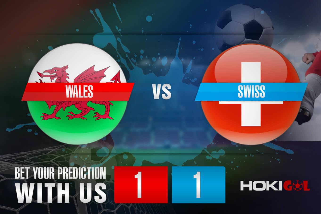 Prediksi Bola Wales Vs Swiss 12 Juni 2021