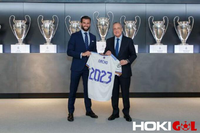 Nacho Fernandez Resmi Perpanjang Kontrak di Real Madrid