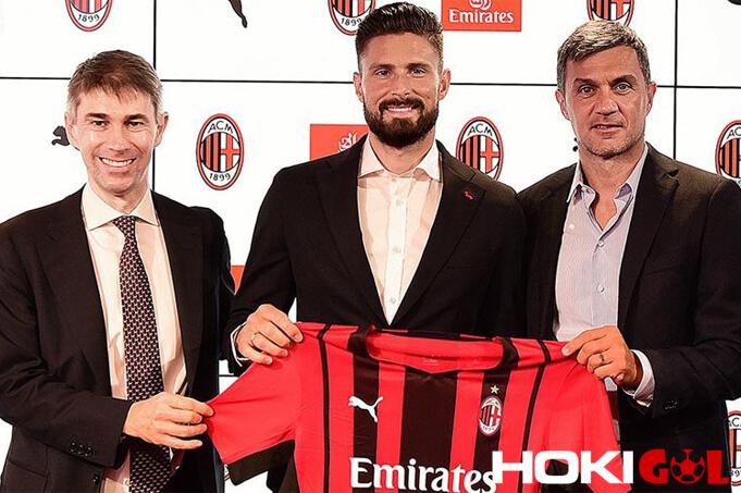 Olivier Giroud Resmi Pindah ke AC Milan