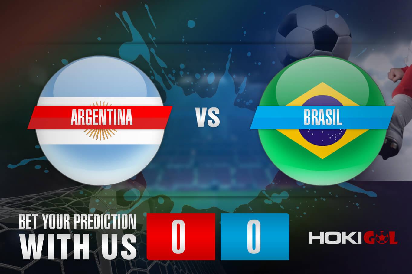 Prediksi Bola Argentina Vs Brasil 11 Juli 2021