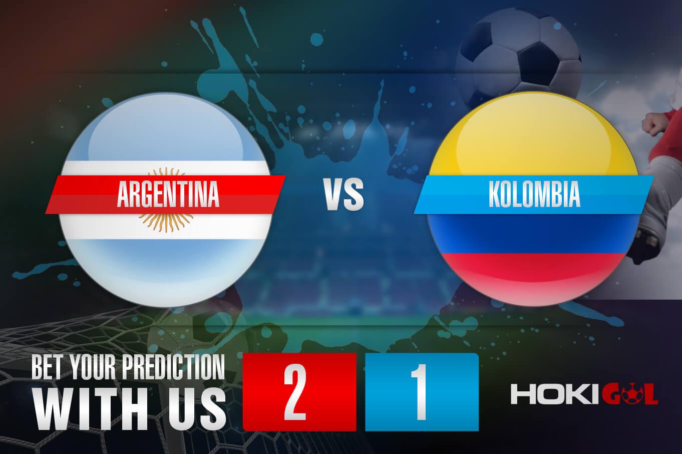 Prediksi Bola Argentina Vs Kolombia 7 Juli 2021