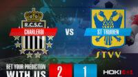 Prediksi Bola Charleroi Vs St Truiden 31 Juli 2021